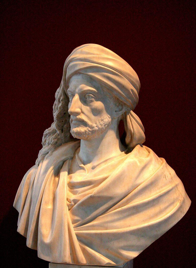 Buste de René Caillé réalisé par Alexandre Oliva